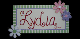 Child's Name Canvas