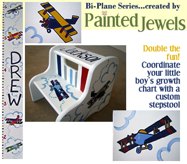 The Bi-Plane Series...created by Painted Jewels!