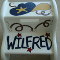 Cowboy Series Stepstools from Painted Jewels ... click to enlarge